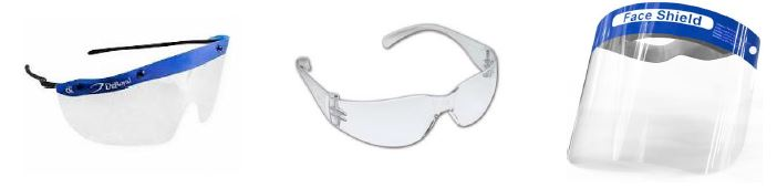 Eye Protection Examples